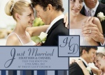 Chic Stripe-Share your nuptial news with beautiful Wedding Announcements from Simply to Impress! Choose from our wide variety of designs today.