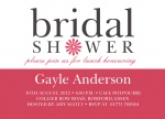 Modern Bride -  Hen Night Invitations