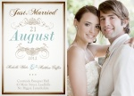 Share your nuptial news with beautiful Wedding Announcements from Simply to Impress! Choose from our wide variety of designs today.  - Filigree Wedding
