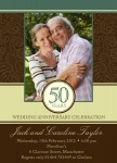 Classic Love - Anniversary Invitations