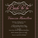 Beautiful Bride-to-Be -  Hen Night Invitations
