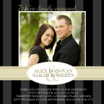 Just Us Two -  Engagement Party Invites