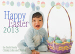 Bunny's Basket -  Easter Greeting Cards