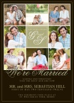 Share your nuptial news with beautiful Wedding Announcements from Simply to Impress! Choose from our wide variety of designs today.  - Forever Love