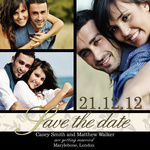 Sable Love Date - Save the Date Cards