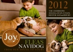 Best Buds - Dog Christmas Cards 