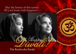 Ruby Om - Diwali Cards
