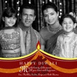 Diwali Flame -  Diwali Greeting Cards