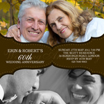 Wedding Bands -  Wedding Anniversary Invitations