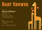 Mama's Love - Neutral Baby Shower Invitations	