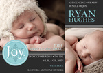 Our Joy -  Christmas Birth Announcement Cards
