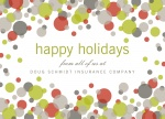 Abstract Bubbles - Company Christmas Cards