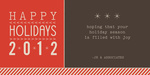 Holiday Fonts -  Christmas Cards for Business
