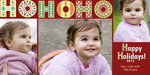 Holiday Laughter - Baby Christmas Cards