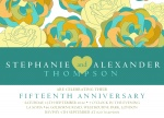 Floral Fantasy -  Wedding Anniversary Invitations
