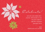 Crimson Cheer -  Christmas Invitations