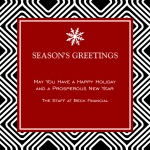 Chic Greetings - Company Christmas Cards