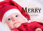 Mr. Merry -  Babys First Christmas Cards