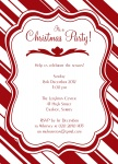Candy Cane Christmas -  Christmas Invitations