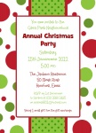 Party Wrap -  Christmas Invitations