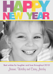 Color Me New - New Year Cards