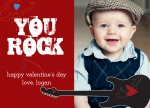 Baby You Rock -  Valentines Day Cards