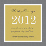 Sterling Frame -  Christmas Cards for Business