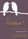 Lavender Lovebirds - Engagement Party Invitations