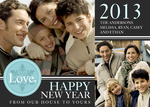 Our Happy Home - New Year Cards