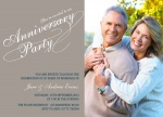 Party Script - Anniversary Invitations