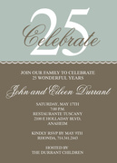 Special Anniversary -  Photo Anniversary Invitations