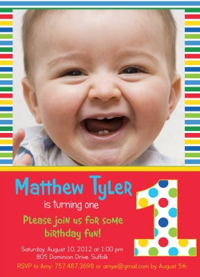 Kids Birthday Invitations, Crayon Colors Design
