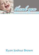Birthday Beads - Kids Thank You Cards