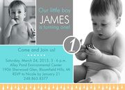 Birthday Invitations for Boys - Love Drops