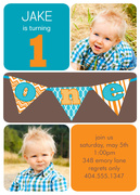 Photo Birthday Invitations - Spelling Champ