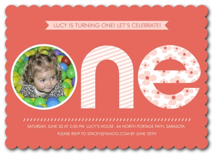 Kids Birthday Invitations, Little Lady Design