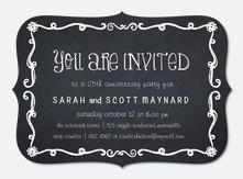 Anniversary Board - Anniversary Invitations