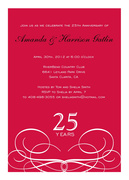 Anniversary Engraving -  Photo Anniversary Invitations