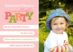 Girl Birthday Invitations - Miss Lil Tyke