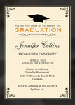 Graduation Invitations - Honors Cap