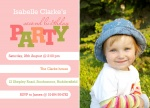 Miss Lil Tyke - kids party invitations