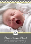 Boy Birth Announcements - Handsome Boy
