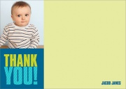 Kids Thank You Notes - Big Boy Stripe