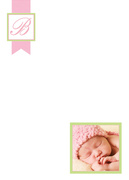 Baby Thank You Cards - Beauty Blush