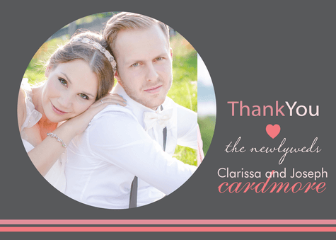 Wedding Thank You Cards, Newlywed Thanks Design