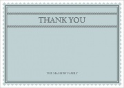 Baby Thank You Cards - Baby Blue Patch