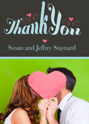 Heartful Thanks -  Marriage Announcements
