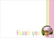 Big Shot Girl - Kids Thank You Cards
