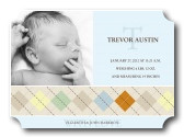 Infant Boy Birth Card  - Master Argyle