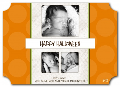 Halloween Greeting Cards, Bundle Up Design